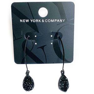 NWT Black NY&C Earrings